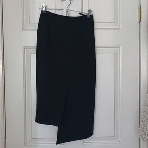 Ted baker asymmetrical skirt